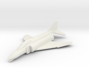 JA14 F4C Phantom II (1/285) in White Strong & Flexible