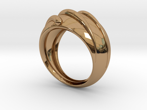 Comet in Polished Brass