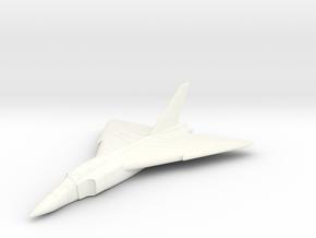 CF-105 Avro Arrow -1/285 Scale (Qty.1) Canada in White Processed Versatile Plastic