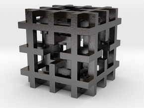 Basic Menger 20mm in Polished Nickel Steel