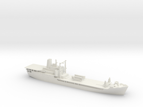 HMAS Tobruk in White Natural Versatile Plastic: 1:350