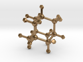 Adamantane in Natural Brass