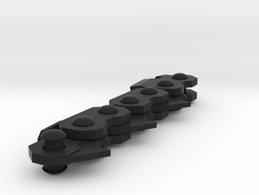 Chain in Black Natural Versatile Plastic