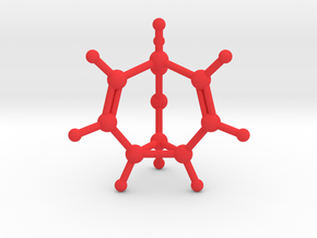 Bullvalene in Red Processed Versatile Plastic