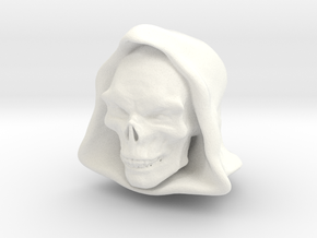 Finalmovieskeletor in White Strong & Flexible Polished