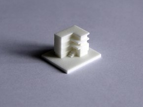House 10 in White Natural Versatile Plastic