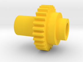 Inventing room Key Right Gear (9 of 9) in Yellow Processed Versatile Plastic