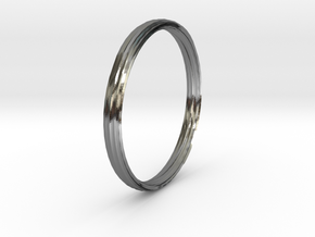 New Ring Design in Polished Silver