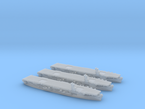 1/4800 US Commencement Bay class CVE (x3) in Smooth Fine Detail Plastic