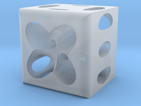 Dice64 in Smooth Fine Detail Plastic