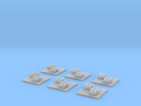 "Taiidan ""Leekor"" Repair Corvettes (6) in Smooth Fine Detail Plastic"