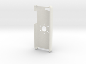 iPhone 5c case in White Natural Versatile Plastic