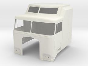 K100-Aerodyne-cab in White Strong & Flexible