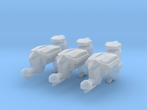 """Kushan """"Puppeteer"""" Drone Frigates (3) in Smooth Fine Detail Plastic"""