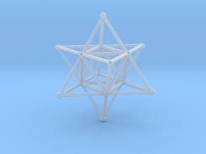 MERKABAH (figurine) in Smooth Fine Detail Plastic