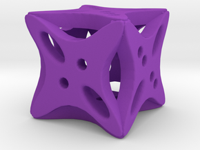 Dice105 in Purple Processed Versatile Plastic