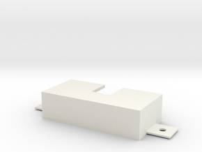 IPASS Bracket in White Natural Versatile Plastic