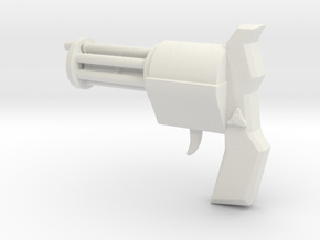El Tiburon's Complex Shooter in White Natural Versatile Plastic