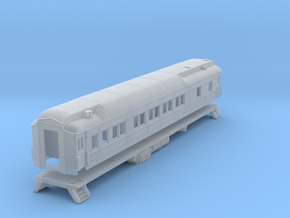 Pullman sleeper, plan3410 (shortened)(1/160) in Smooth Fine Detail Plastic