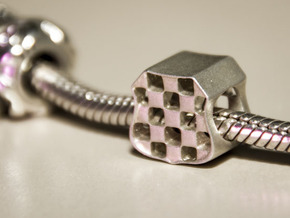 Grb Charm in Polished Silver