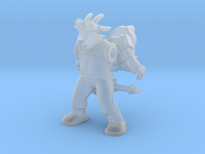 Bray Ghoatbuster Figure (plastic) in Smooth Fine Detail Plastic