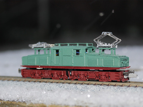 "LEW EL2 ""N"" scale (Bottom part 2-2) in Frosted Ultra Detail"
