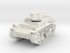 PV58A T14 Light Tank (28mm) in White Strong & Flexible