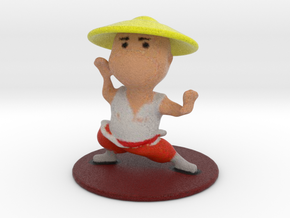 Shaolin Monk in Full Color Sandstone