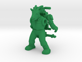 Winshorn Ghoatbuster Figure (Plastic) in Green Strong & Flexible Polished