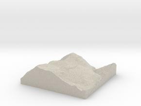 Model of Bear Swamp in Sandstone