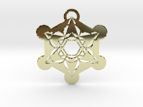 Metatrons Cube  in 18k Gold