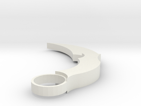 Kerambit3D in White Natural Versatile Plastic
