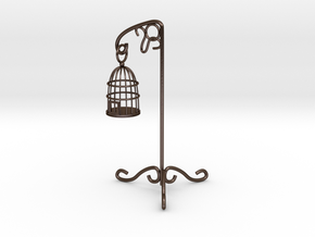 Birdcage 1/12 in Polished Bronze Steel