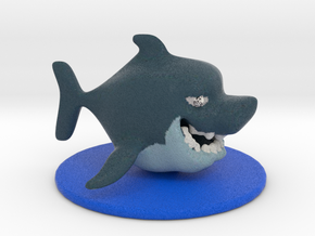 Little Shark in Full Color Sandstone