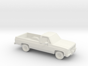 1/87 1985 GMC Sierra  in White Natural Versatile Plastic