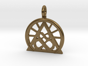 SACREDLIFE SYMBOL OF ABUNDANCE in Natural Bronze