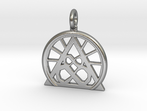 SACREDLIFE SYMBOL OF ABUNDANCE in Raw Silver
