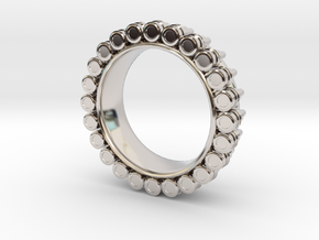 Bullet ring(size = USA 6) in Platinum