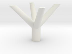 PILASTRO TRENTO in White Natural Versatile Plastic
