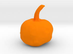 Mini Pumpkin in Orange Processed Versatile Plastic
