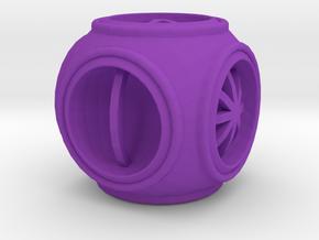 Dice115 in Purple Processed Versatile Plastic