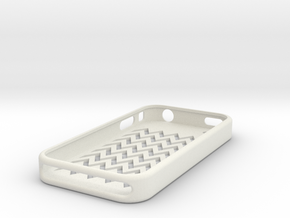 IPhone 4 Case in White Strong & Flexible