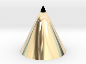 Cone in 14K Yellow Gold