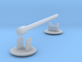 Heavy Artillery, 320mm shells (n-scale) in Smooth Fine Detail Plastic