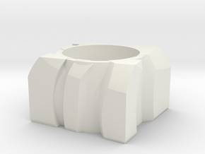 Transformer Planter in White Strong & Flexible