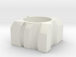 Transformer Planter in White Natural Versatile Plastic