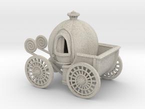Pumpkin carriage in Natural Sandstone