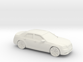 1/87 2011  Chrysler 300 SRT8  in White Natural Versatile Plastic
