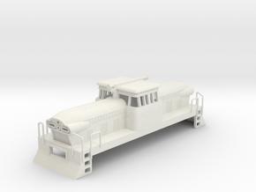 1/87 GMD GMDH-1 LOCOMOTIVE in White Natural Versatile Plastic