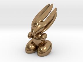 Rabbitrobot mk V in Natural Brass
